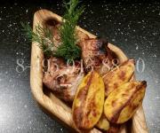 Деревянная емкость для подачи и сервировке