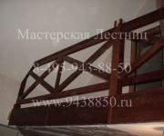 Фотография комплектующие для лестниц из бука - ступени, поручень - ограждения производство