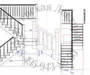 Проектирование деревянные лестницы Замер деревянные лестницы деревня Ченцово городское поселение Можайск, Можайский район, Московская область