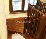 Деревянные лестницы из лиственницы деревня Бузланово Красногорский район