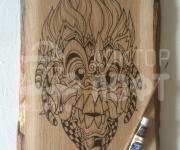 Художественная роспись на дереве