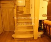 Деревянные лестницы из дуба Коттеджный поселок Бристоль - коттеджи, таунхаусы и дуплексы Киевское шоссе