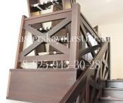 Гусиный шаг деревянная лестница из бука