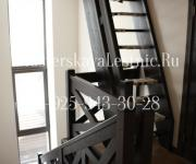 Деревянная лестницы из бука Гусиный - Шаг Поздняково Москва