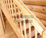 Деревянные лестницы из Сосны для Бани д Поздняково Новорижское шоссе