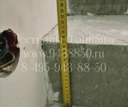 Облицовка бетонной лестницы Одинцово, кованное ограждение