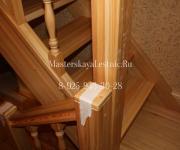 Заказать деревянные лестницы производство Нахабино Красногорский район