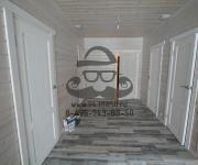 Деревянные двери из сосны белого цвета - производство покраска и монтаж