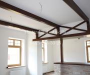 Балки из дуба дизайн кухня и гостиная проектирование и производство