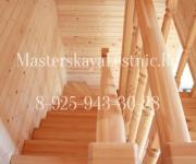 Деревянные лестницы дачный кооператив Тихий Луг Можайский район