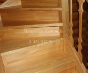 Деревянная лестница из сосны Селятино Киевское шоссе Наро-Фоминский р-он