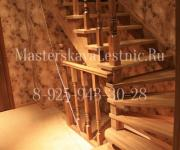 Деревянные лестницы из дуба село Саввинская Слобода Одинцовский район