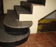Деревянные лестницы из Сосны по бетону Ватутинки