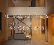 Металлические лестницы в стиле лофт - облицовка лестницы деревом дуб