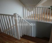 Деревянные лестницы из лиственницы КП Европа 2 деревня Грибаново Красногорский район