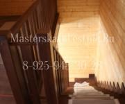 Деревянные лестницы из дуба г-образная деревня Алексино Истринский район, Московская область