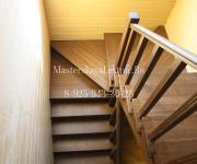 Деревянные лестницы деревня Повадино Солнечногорский район