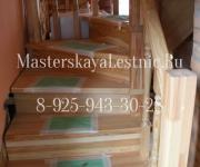 Деревянные Лестницы садовое товарищество Румянцево Истринский район