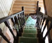 Деревянные лестницы деревня Талицы Истринский район (Дедовск)