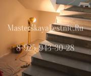 Облицовка бетонной лестницы Дарьино до