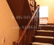 Деревянные лестницы (облицовка лестницы) Снегири Истринский район