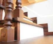 Деревянные лестницы в Тучково на заказ - облицовка бетонных лестниц деревом Тучково