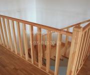 Облицовка бетонной лестницы деревом (лиственница) Объект Карловы Вары Истра Вельяминово