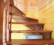 Деревянные лестницы КП Денисьево Можайский р-он Моск Обл