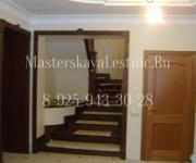 Деревянные лестницы из дуба-подиум