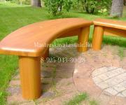 Мебель из лиственницы для улицы изготовление на заказ