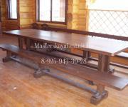 Мебель из сосны на заказ для дома и загородного дома на заказ
