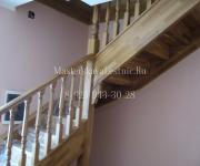 Деревянные лестницы из дуба коттеджный поселок Монтевиль Истринский район