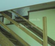 Деревянные лестницы из дуба коттеджный поселок Зелёная Роща-1 деревня Сивково