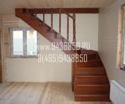 Деревянные лестницы из сосны село Каринское Одинцовский район