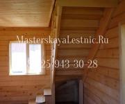 Деревянные лестницы из сосны село Ершово Одинцовский район