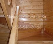 Деревянные лестницы из лиственницы деревня Зинаевка Наро-Фоминский район