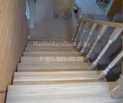 Деревянные лестницы из дуба село Ильинское Красногорский район