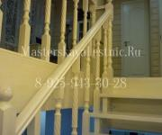Деревянные лестницы из лиственницы - Лестной Городок д Осоргино Одинцово Минское шоссе