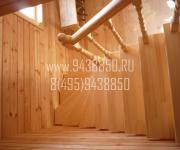 Деревянные лестницы деревня Грибцово Рузский район