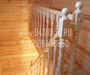 Деревянные лестницы из Сосны деревня Грибцово Рузский район