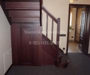 Деревянные лестницы из дуба микрорайон Павшинская Пойма город Красногорск