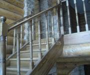 Деревянные лестницы из дуба деревня Глаголево Наро-Фоминский район