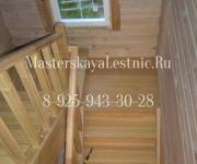 Деревянные лестницы деревня Чупряково Одинцовский район