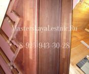 Фотография лестницы из бука лестницы из бука на заказ проектирование и производство Москва