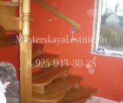 Деревянные лестницы село Алабушево Солнечногорский район