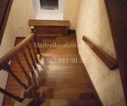 Деревянные лестницы из дуба Химки Московская область Заказать производство