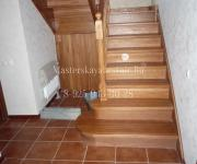 Деревянные лестницы из дуба село Перхушково Одинцовский район