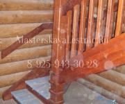 Деревянные лестницы из дуба Рублёво-Успенское шоссе