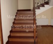 Деревянные лестницы из дуба поселок Сосны Одинцовский район