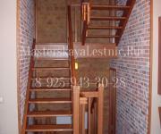 Деревянные лестницы из дуба коттеджный поселок Родники Одинцово
